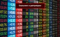 Скальпинг и дейтрейдинг- анализ потока ордеров