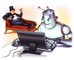 человек против робота - кто больше